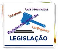 Acesse ao Estatuto do Servidor,LOM,Regimento Interno e Leis Orçamentárias