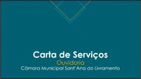 Conheça a Carta de Serviços da Câmara Municipal