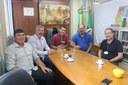 Vereadores participam de reunião