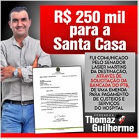 Emenda de R$250.000,00