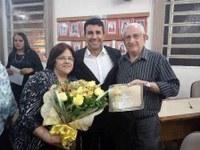 "Diploma ""O Mestre""- 2016, professora Vera Maria de Moura Incerti."