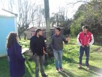 Acompanhamento de técnicos da Secretaria de Planejamento nas Comunidades Coqueiro e Torrão.