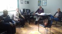 Audiência no Departamento de Aguá e Esgoto(DAE)