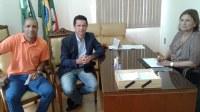 Visita de Deputado Estadual